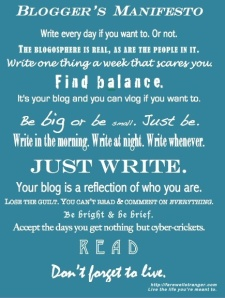 Writing for your blog inspiration