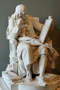 Blaise Pascal by Augustin Pajou