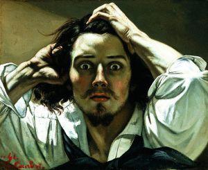 Desperate Man-Gustave Courbet