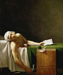 Jacques-Louis David - La Mort de Marat
