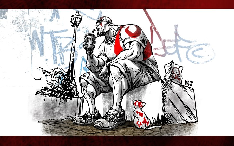 Kratos_lived_until_today__by_njay