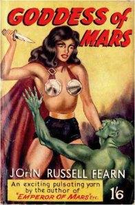 Goddess of Mars - Hamilton 1950