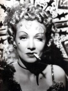 Marlene Dietrich, (Destry Rides Again)