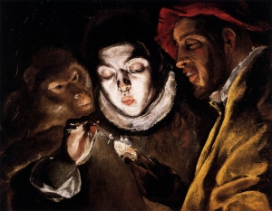 El Greco - Boy Lighting a Candle