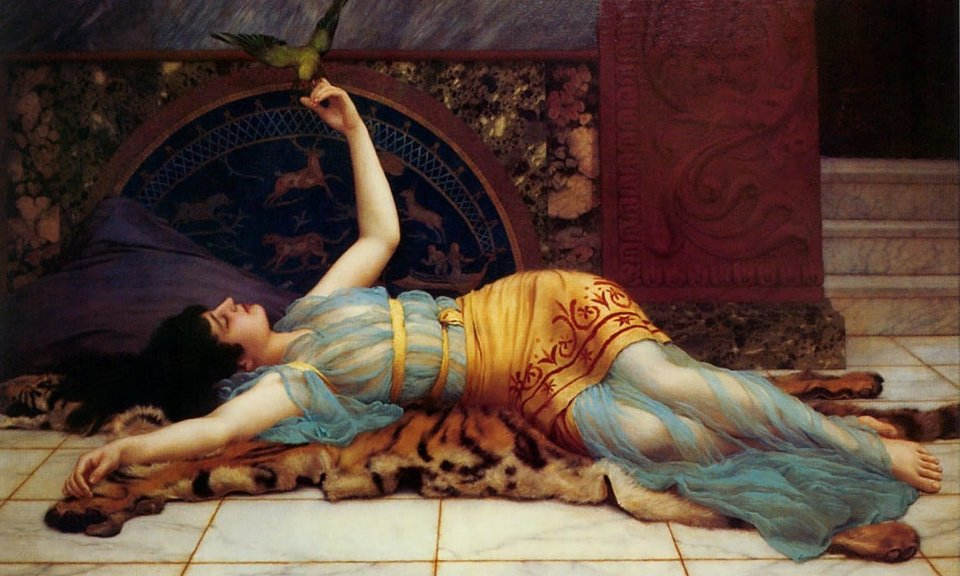 dolce-far-niente-john-william-godward