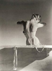 Mainbocher Corset, 1939 by Horst P Horst