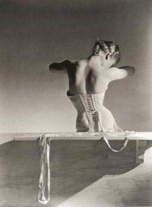 Mainbocher Corset, 1939 by Horst P Horst