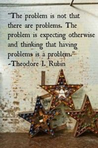 problem with problems