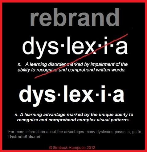 rebrand dyslexia