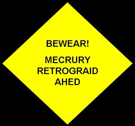 Retrograde sign