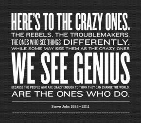Steve Jobs genius