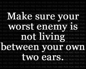 enemy between ears