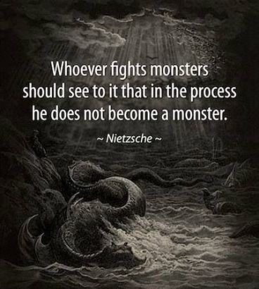 monsters - nietzsche