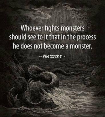 monsters - nietzsche