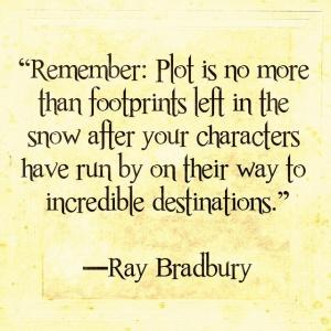 plot characters bradbury