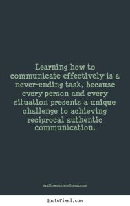 reciprocal communication