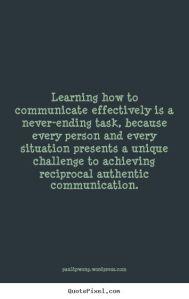 reciprocal communication