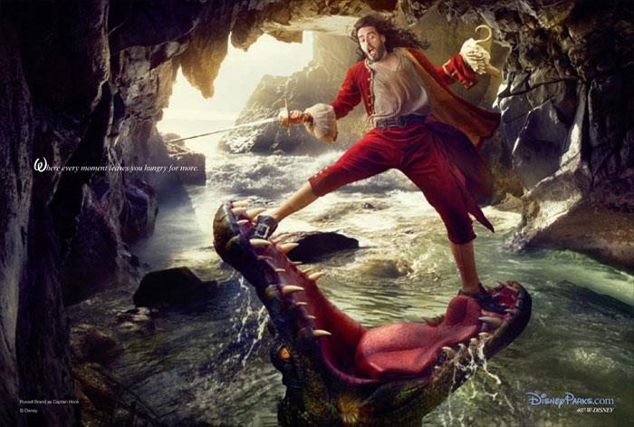 Russell Brand-DreamDisney - annie Leibovitz