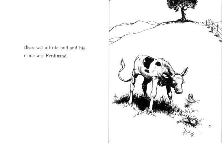 ferdinand the bull munro leaf