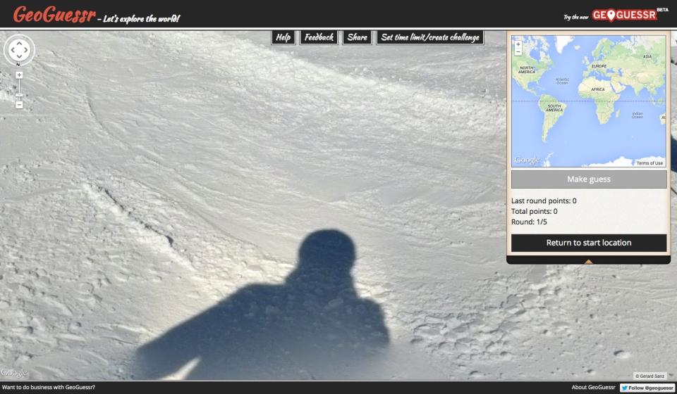 GeoGuesser shadow
