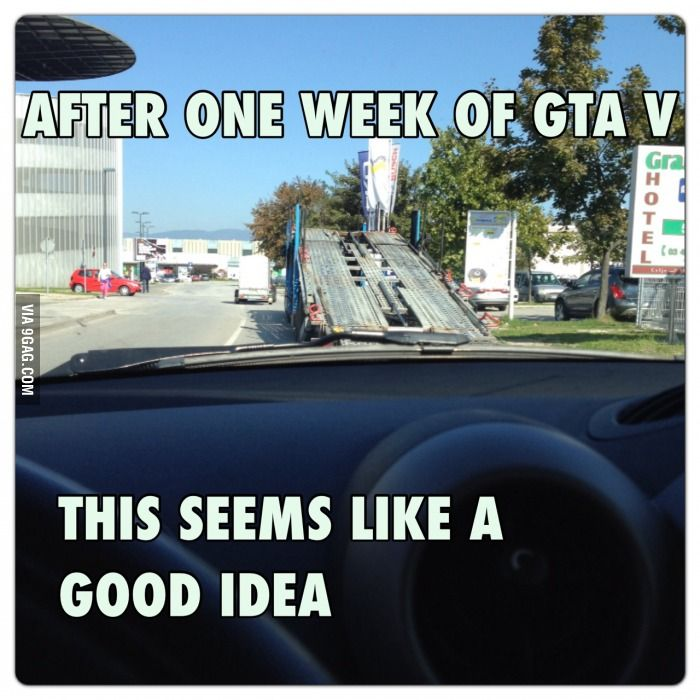 GTA V inspired ideas