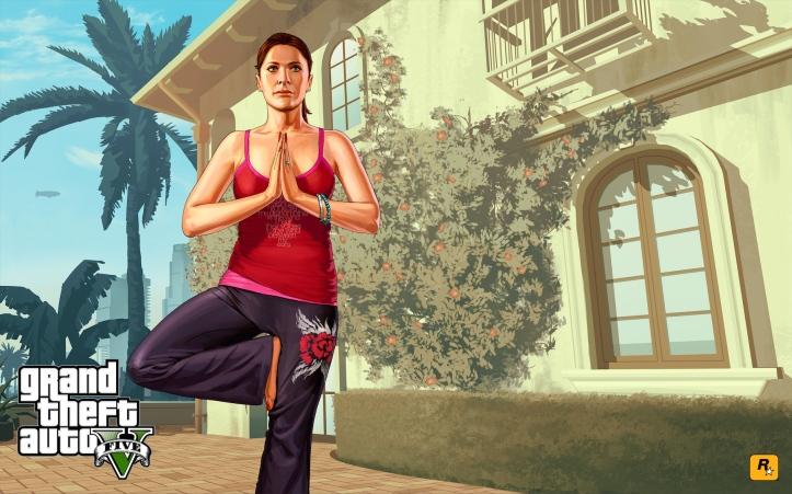 GTAV yoga