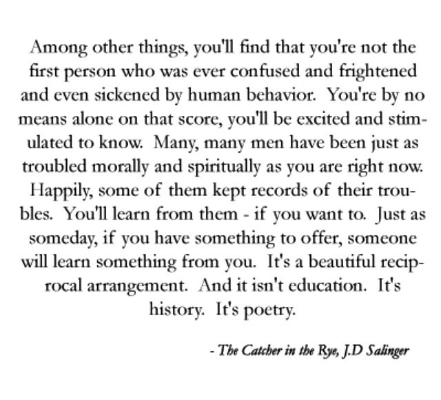 """catcher in the rye belonging essay """" belonging essay my chosen text, salinger s the catcher in the rye explorers many ideas that link to belonging the protagonist holden caulfield is the main character throughout the novel."""