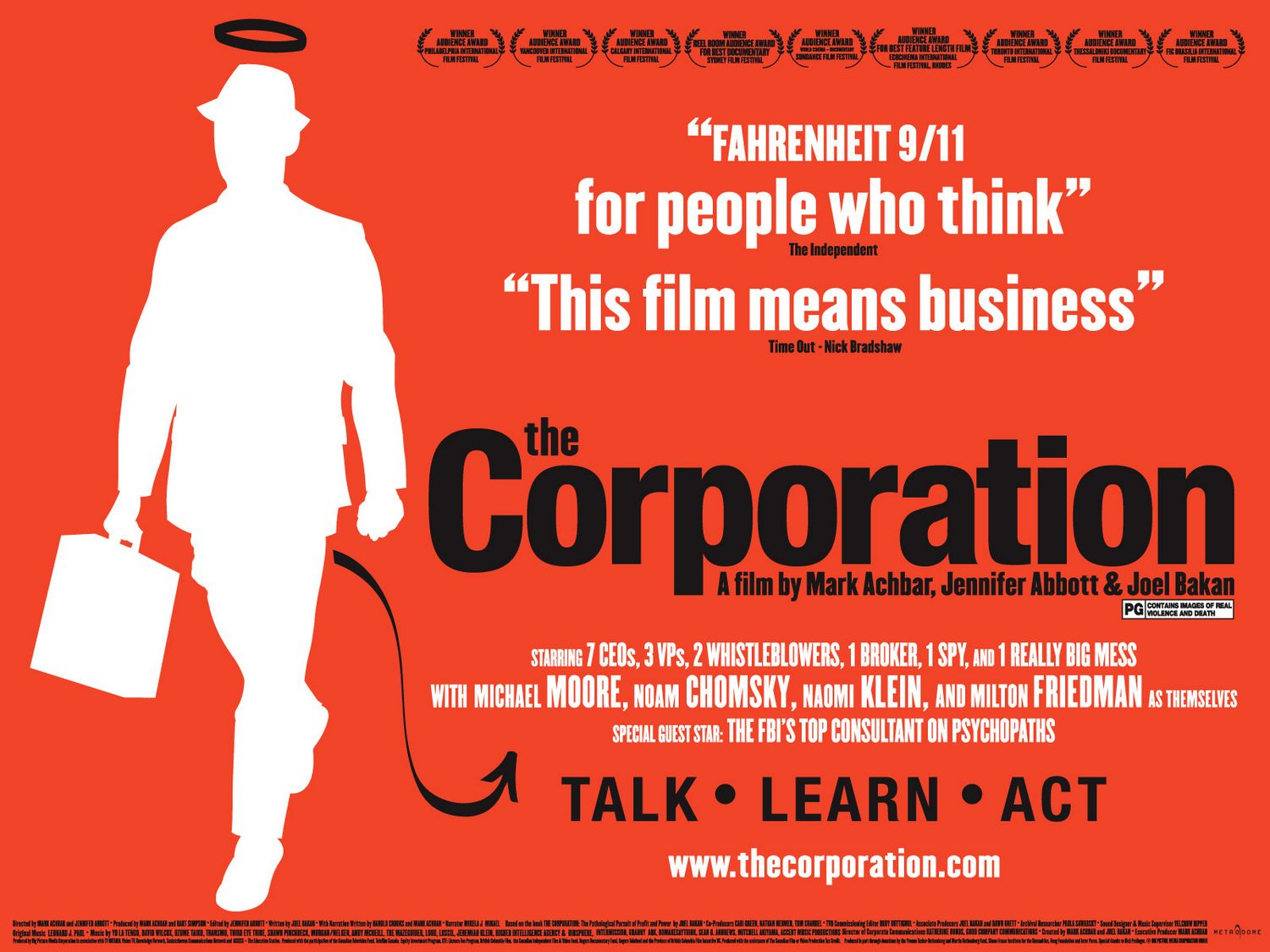 the corporation movie Find all available study guides and summaries for the corporation by joel bakan if there is a sparknotes, shmoop, or cliff notes guide, we will have it listed here.