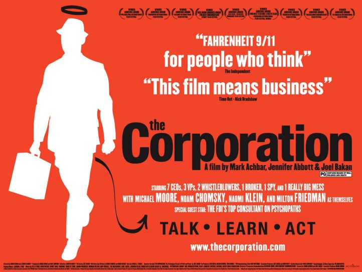 The corporation film poster