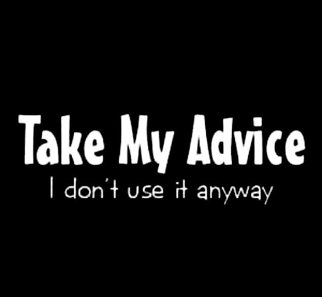 useless advice