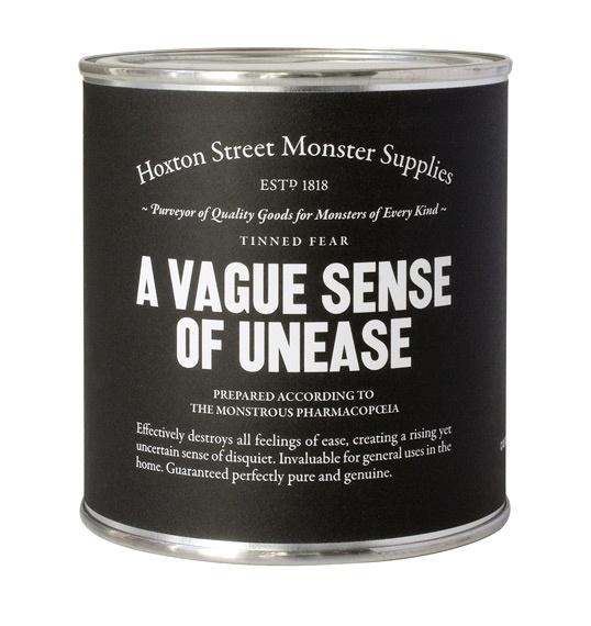 Vague sense of unease