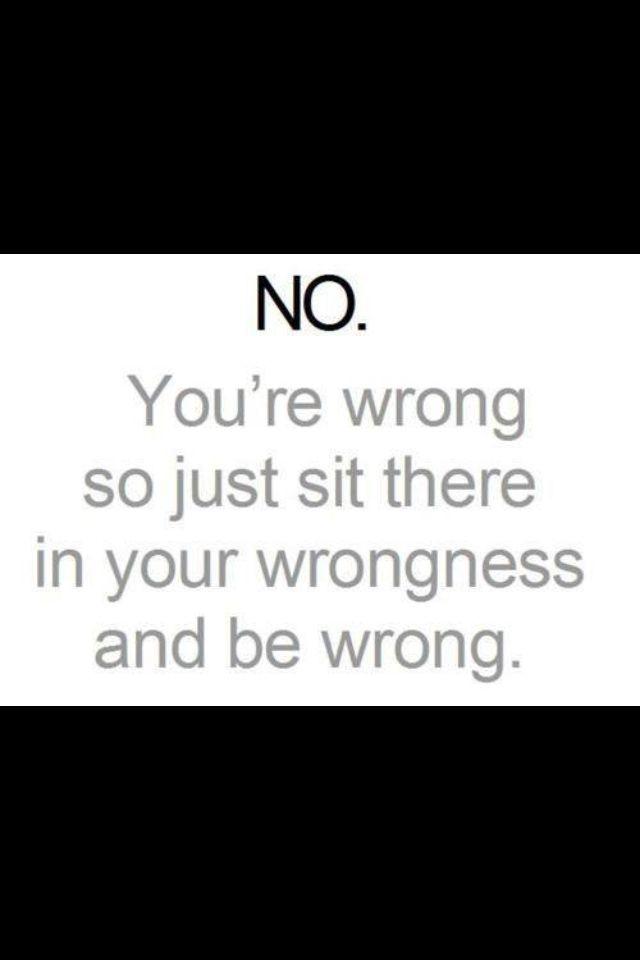 wrongness