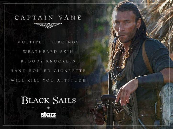 Captain Vane resume - black sails