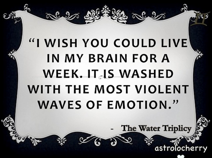 emotions and water