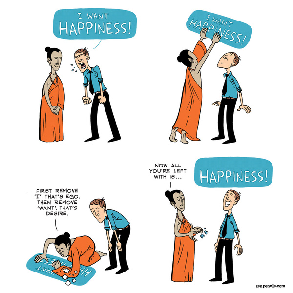 happiness by zen pencils