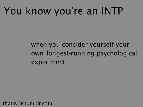 INTP -psychology