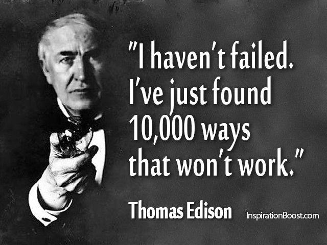 edison & failure