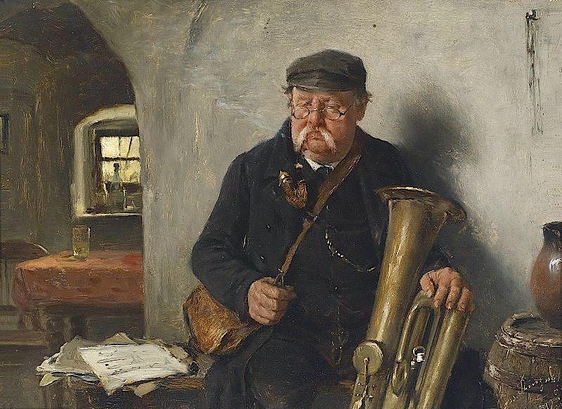 Josef_Kinzel_Der_Tubaspieler_1892