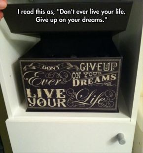 life & dreams humor