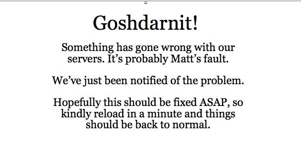 Alll Matt's Fault