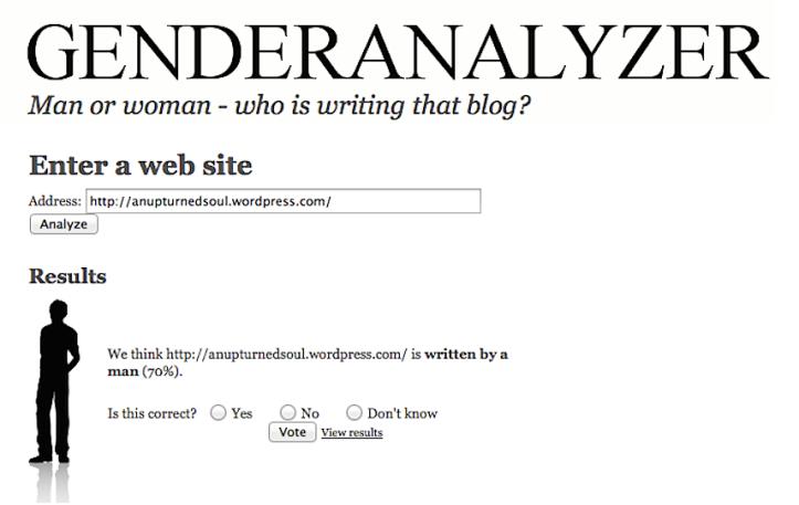 BlogGender