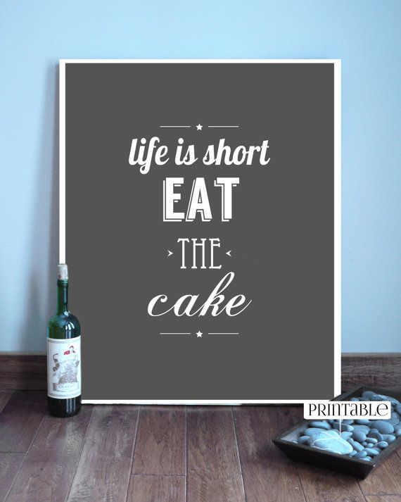 Eat the cake