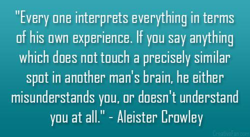 every-one-interprets