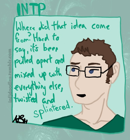 INTP by INFJdoodles