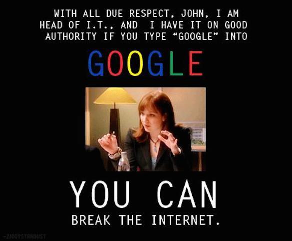 IT crowd - Jen - Google