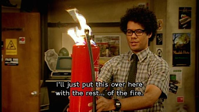 It crowd - moss - fire