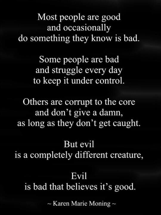 Karen Marie Moning -good,bad,evil