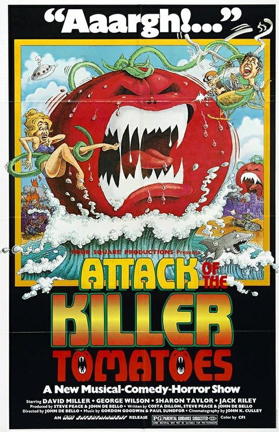 Killer Tomatoes poster