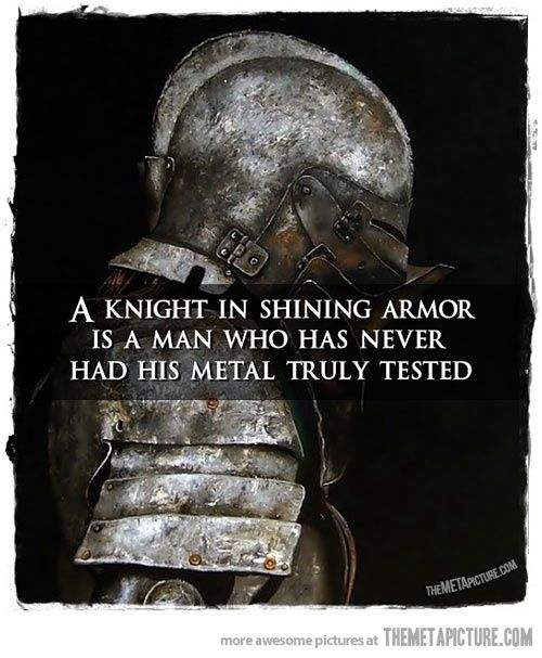Knight in shining armor