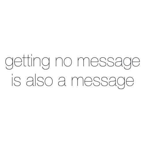 no message message